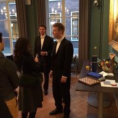 Photo taken at Academiegebouw by Frederik Z. on 12/11/2013