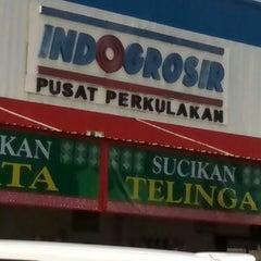 Photo taken at Indogrosir by Agoeng P. on 7/25/2013