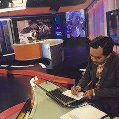 Photo taken at Astro Awani by Niki C. on 3/8/2015