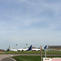 Photo taken at Lasham Airfield by Hebert R. on 5/4/2014