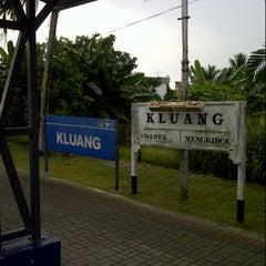Photo taken at Stesen Keretapi Kluang by Mohd Yusof H. on 11/10/2012