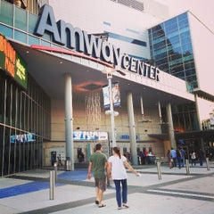 Photo taken at Amway Center by Jen V. on 4/28/2013