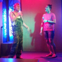 Photo taken at Polari Comedy Club by Pauwee T. on 9/9/2013