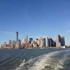 Photo taken at Staten Island Ferry Boat - John A. Noble by Andrea B. on 4/21/2013