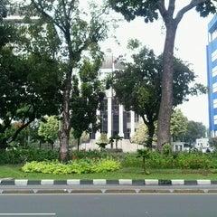 Photo taken at Mahkamah Konstitusi by Afif K. on 12/19/2014