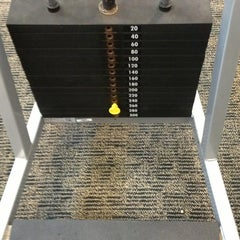 Photo taken at LA Fitness by Ryan L. on 12/19/2012