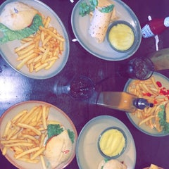 Photo taken at Nando's by Joud A. on 1/17/2015