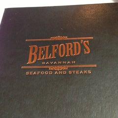 Photo taken at Belford's Savannah Seafood & Steaks by Megan W. on 5/30/2013