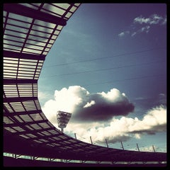 Photo taken at Melbourne Cricket Ground (MCG) by Ben A. on 6/30/2013