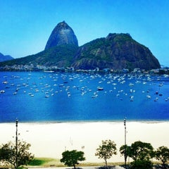 Photo taken at Enseada de Botafogo by Luis G. on 12/24/2012