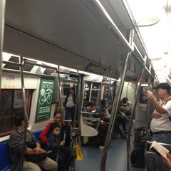 Photo taken at 33rd St PATH Station by Paul W. on 9/22/2013