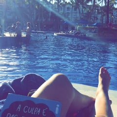 Photo taken at Barcelo Premium Pool by Sofie O. on 2/8/2015