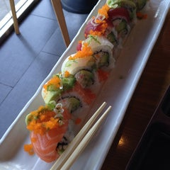 Photo taken at California Roll & Sushi Fish by Natalia C. on 9/15/2014
