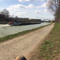 Photo taken at Mittellandkanal by Sherlock .. on 3/24/2016