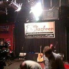 Photo taken at The Shaskeen Irish Pub by Bob C. on 3/2/2013