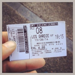 Photo taken at Gaumont Valenciennes by Loic D. on 8/13/2014