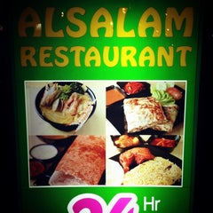 Photo taken at Al-Salam Restaurant by LogOff ロ. on 12/29/2012