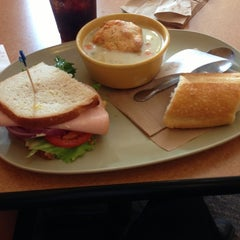 Photo taken at Panera Bread by Charles on 10/26/2012