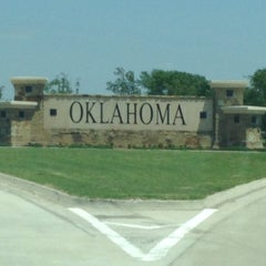 Photo taken at Oklahoma Visitor Center by Sabrina H. on 6/1/2014