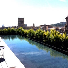 Photo taken at Mandarin Oriental, Barcelona by Dimitris M. on 9/16/2013