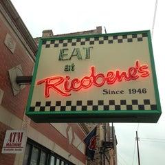Photo taken at Ricobene's by Jonathan B. on 11/8/2012