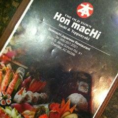 Photo taken at Hon Machi Grill - Ocotillo by Danielle Z. on 6/25/2013