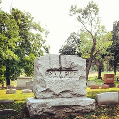 Photo taken at Oak Hill Cemetery by Jim V. on 8/17/2013