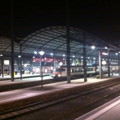Photo taken at Bahnhof Olten by Christian G. on 10/16/2012