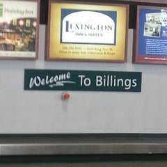 Photo taken at Billings Logan International Airport (BIL) by Phillip G. on 2/1/2013