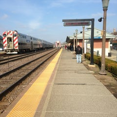 Photo taken at Metra - Elmhurst by Justin J. on 4/7/2013
