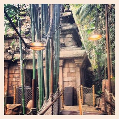 Photo taken at Indiana Jones Adventure by Tanya H. on 1/27/2013