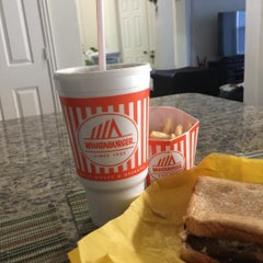 Photo taken at Whataburger by Tom P. on 1/29/2016
