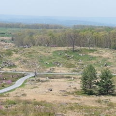 Photo taken at Big Round Top by Chris C. on 5/8/2014