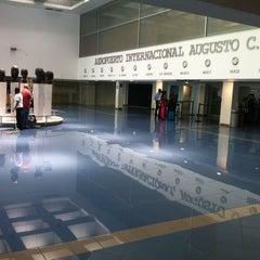 Photo taken at Aeropuerto Internacional Augusto C. Sandino by Jose Luis H. on 2/28/2013