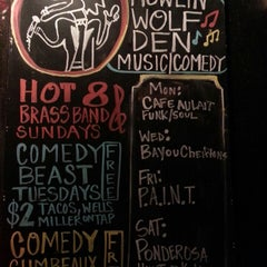 Photo taken at Howlin' Wolf Den by Slangston H. on 10/22/2013