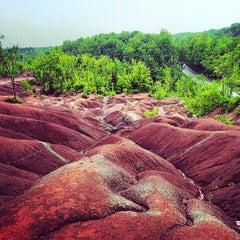 Photo taken at Cheltenham Badlands by Mark S. on 6/2/2013