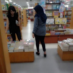Photo taken at Gramedia by Ayumala P. on 2/4/2014