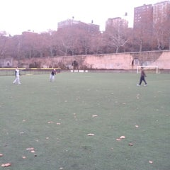 Photo taken at 101 Street Soccer Field by Benjy G. on 12/9/2012