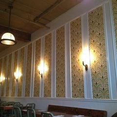 Photo taken at Roebling Tea Room by Valentina V. on 1/9/2013
