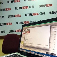 Photo taken at Diario Última Hora by Sergio H. on 7/3/2014