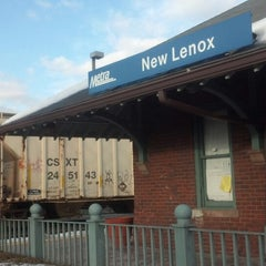 Photo taken at Metra - New Lenox by Brett C. on 3/2/2013