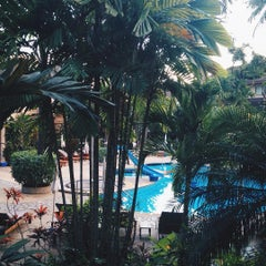 Photo taken at Coconut Village Resort Phuket by Jo A. on 12/4/2015