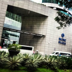 Photo taken at RCBC Plaza by Krysta A. on 8/11/2014
