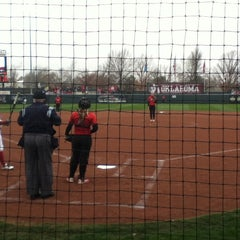 Photo taken at Marita Hynes Field at the OU Softball Complex by Sean B. on 3/23/2013