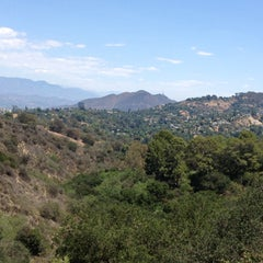 Photo taken at Coldwater Canyon Park by Roxanne R. on 5/12/2013