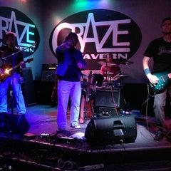 Photo taken at CraZe Tavern by Dra L. on 8/17/2013