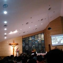 Photo taken at Gereja Katolik Santo Andreas by Sri Rezeki T. on 12/24/2014