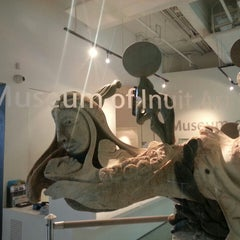 Photo taken at Museum of Inuit Art by Julianna H. on 4/14/2015