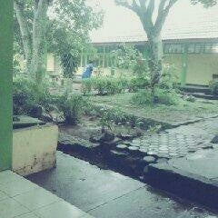 Photo taken at SMAN 5 Bengkulu by Reisha N. on 2/20/2013
