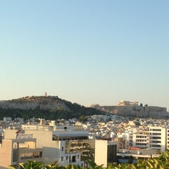 Photo taken at Athens Ledra Hotel by Nancy P. on 7/8/2013